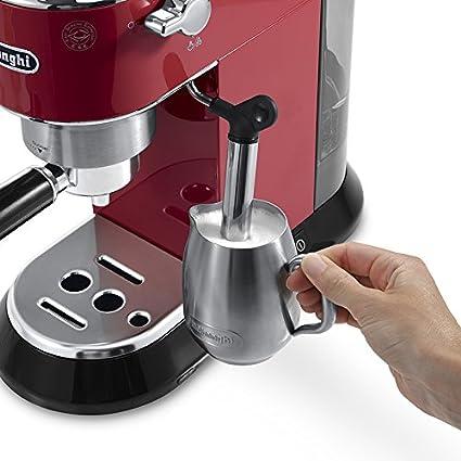 DeLonghi DeLonghi EC 680.R-Cafetera, color rojo, 1450 W, 0 Decibeles, acero inoxidable, plástico: Amazon.es: Hogar