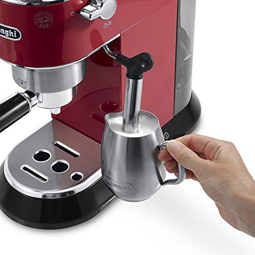 Delonghi Dedica Pump Espresso Maker Red EC 680 R by DeLonghi (Image #4)