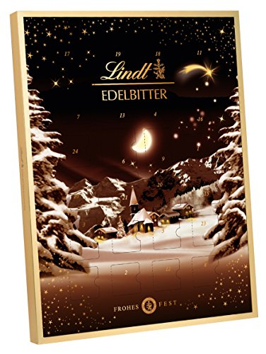 1x Lindt Dark Advent Calendar 2017 250g