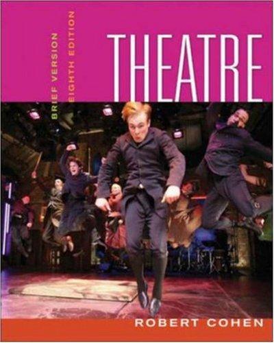 Theatre: Brief Version (Theatre (Brief Edition)) (Theatre Brief Robert Cohen)