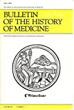 img - for Bulletin of the History of Medicine, Volume 58, Number 3, Fall 1984 book / textbook / text book
