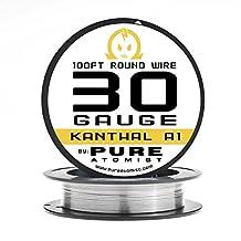 Pure Atomist - 30 Gauge 100ft ka1 Resistance Wire 30g AWG 100' Roll