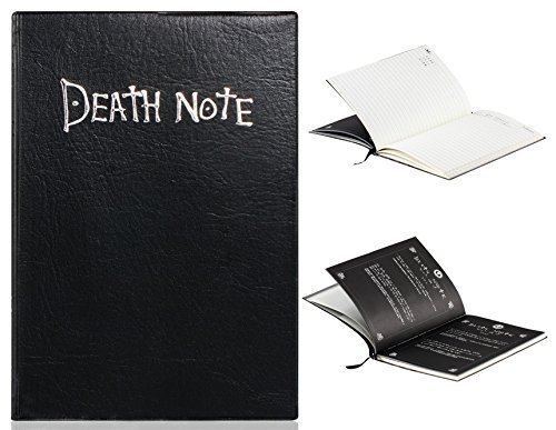 aFirst Anime Death Note Cosplay Notebook & Feather Pen