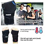 Wrist Ice Pack Wrap - Hand Support Brace with