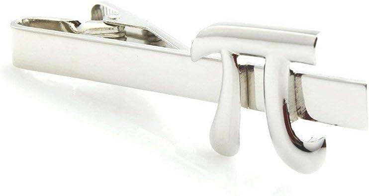 Broche de corbata para profedor de matemáticas; plata en color ...
