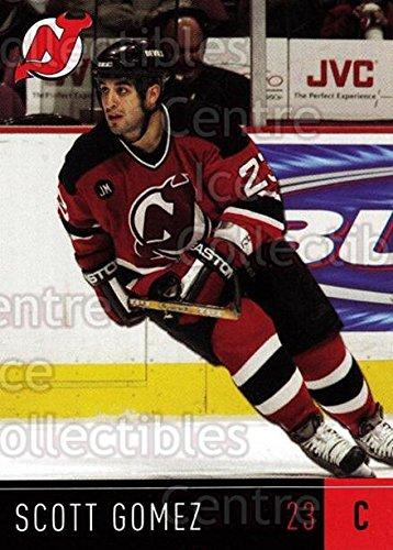 ((CI) Scott Gomez Hockey Card 2005-06 New Jersey Devils Team Issue 16 Scott Gomez)