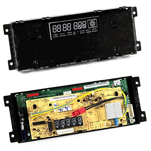Frigidaire 316577077 Range Oven Control Board and Clock Genuine Original Equipment Manufacturer (OEM) Part ()