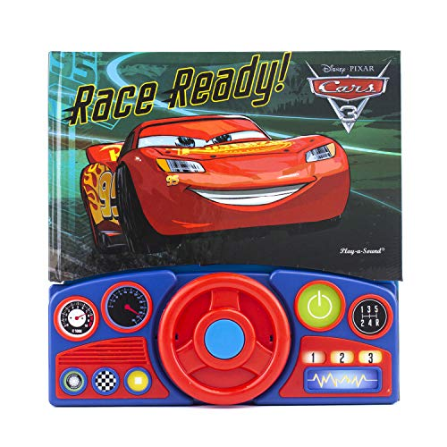 (Pixar - Cars 3 Steering Wheel Sound Book - Race Ready! - PI Kids (Disney Pixar Cars 3))