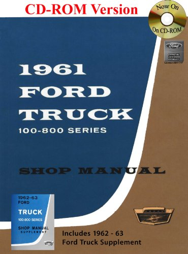 1961-63 Ford Truck Shop Manual