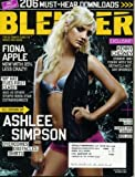 Blender December 2005 Ashlee Simpson Cover, Fiona Apple, Kenny Chesney, Daniel Radcliffe (Harry Potter) Music