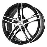 honda civic 17 inch rims - Verde Custom Wheels Protocol Black Wheel with Machined Lip (17x7/5x4.5)