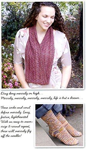 Amazon Irish Girlie Knits Merrily Infinity Scarf Cowl Sock