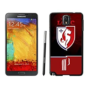 NEW DIY Customized Skin Case With Soccer Club Lille 01 Football Logo Samsung Galaxy Note 3 N900A N900V N900P N900T Cell Phone Case