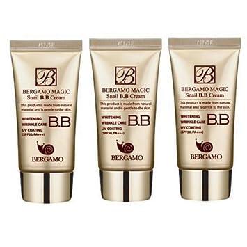 Amazon.com: Bergamo BB Crema de Caracol 50 ml, 3pcs, todos ...