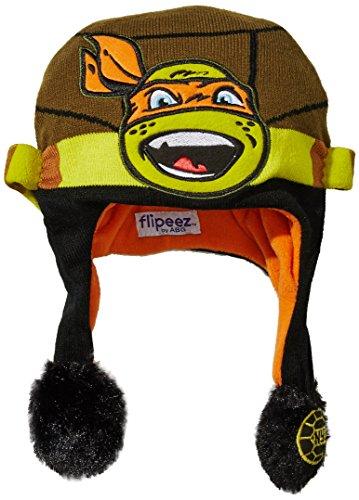 Nickelodeon Kids' Little Cartoon Flipeez, TMNT Michelangelo, One-Size