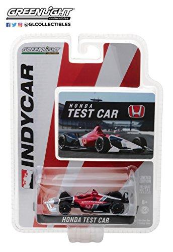 GREENLIGHT 10812 2018 Honda Dallara Universal Aero Kit Test Indy Car Diecast 1:64 ()