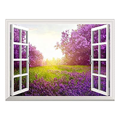 Removable Wall Sticker Wall Mural Majestic Purple Lavender...36