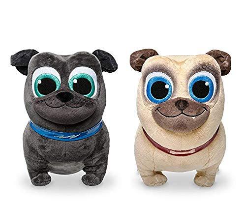 Disney Puppy Dog Pals - Bingo and Rolly Medium Plush (Combo Set)