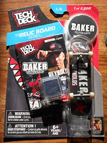 Tech Deck Baker Andrew Reynolds Skateboards TD Relic Series Limited Edition 1 of 2500 ()