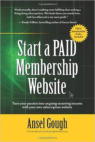 Paid membership site