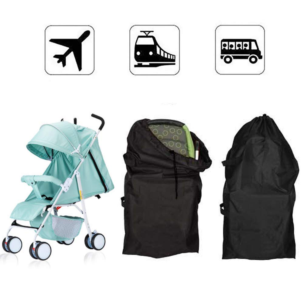 Baby Stroller Travel Bag, Danolt Waterproof Stroller Car Covers Dust-Proof Storage Bag for Airplane, Subway, Bus