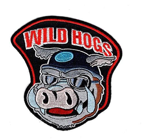 - Wild Hogs Movie Embroidered Iron on Sew on Jacket Vest Biker Patch (12.0 INCH)