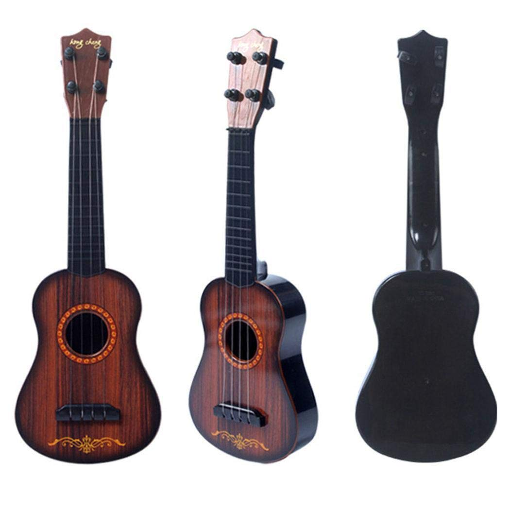Hello22 Baby Musical Instrument Toy Children Funny Ukulele Guitar Educational Toys Guitars & Strings by Hello22