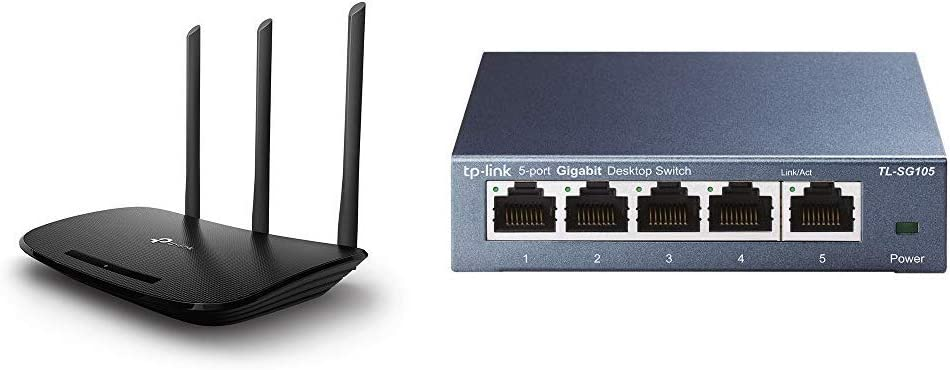 Tp Link Tl Wr940n N450 Wlan Router 2 4 Ghz Black Computers Accessories