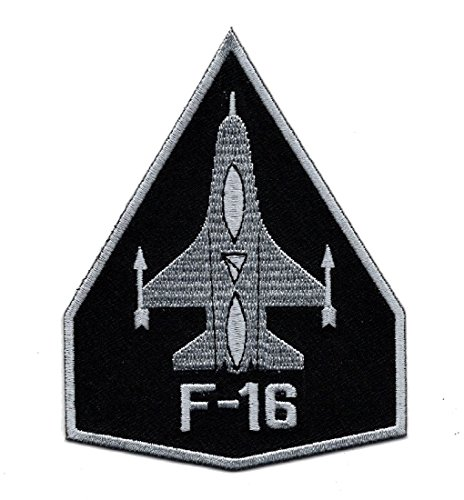 F-16 USAF Air Force Fighter Jet Embroidered Iron on Patch (Usaf F-16)