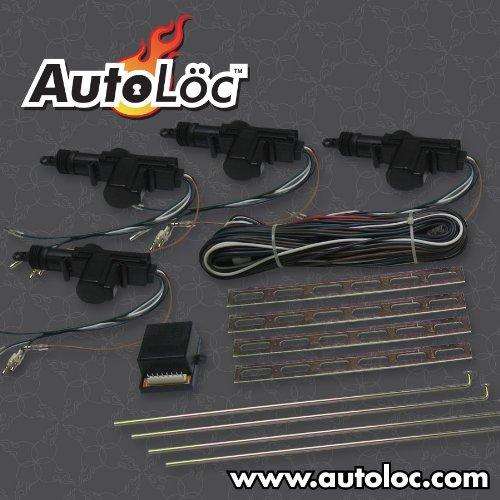 AutoLOC Power accesorios 9706cierre centralizado sistema de 4puertas (autcl4000)