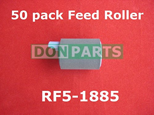 50 pack Feed Roller for HP LaserJet 4000 4050 RF5-1885 by donparts (Image #1)