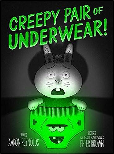 cover image, Creepy Pair of Underwear!