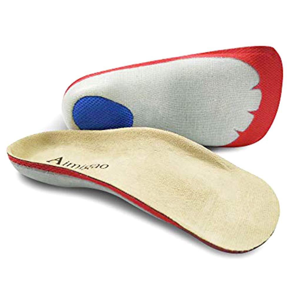 Orthotics Foot Insoles 3/4 Length for Women/men AIMIGAO