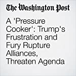 A 'Pressure Cooker': Trump's Frustration and Fury Rupture Alliances, Threaten Agenda | Robert Costa,Philip Rucker,Ashley Parker