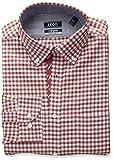 IZOD Mens Slim Fit Collegiate Check Buttondown Collar Dress Shirt