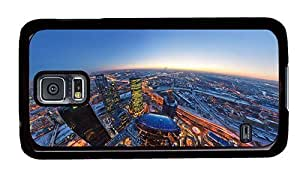 Hipster Samsung Galaxy S5 Case cool moscow city PC Black for Samsung S5