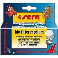 Mídia para Filtragem Biológica Siporax Mini 35g Sera