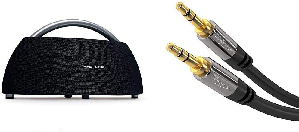 Harman Kardon Go Play Portable Bluetooth Speaker With Dual Microphone Conference System Black Kabeldirekt Aux Cable Audio Jack Cable 3 5 Mm 1 M Black Mp3 Hifi