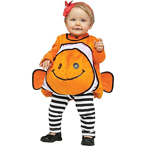 Giddy Goldfish Baby Costume - Up to 24 Months (Infant Goldfish Costume)
