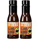 Buffalo Wild Wings Barbecue Sauces, Spices, Seasonings and Rubs For: Meat, Ribs, Rib, Chicken, Pork, Steak, Wings, Turkey, Barbecue, Smoker, Crock-Pot, Oven (Caribbean Jerk, (2) Pack)