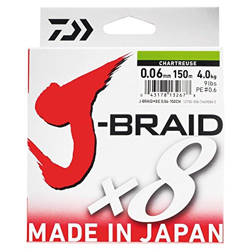 Braid J 8 300 pesca da intrecciato Verde scuro m Filo Braid Daiwa qtAdxBB