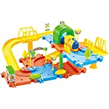 Webby Classic Toy Train Set, Multi Color