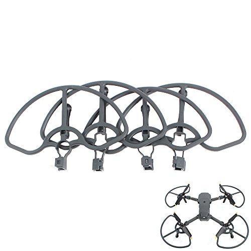 Yifant DJI Mavic Pro Drone Accessories Propeller Guard Bumper Protectors 4pcs Quick Release Not Affect Obstacle Avoidance(Gray Colour) by Yifant