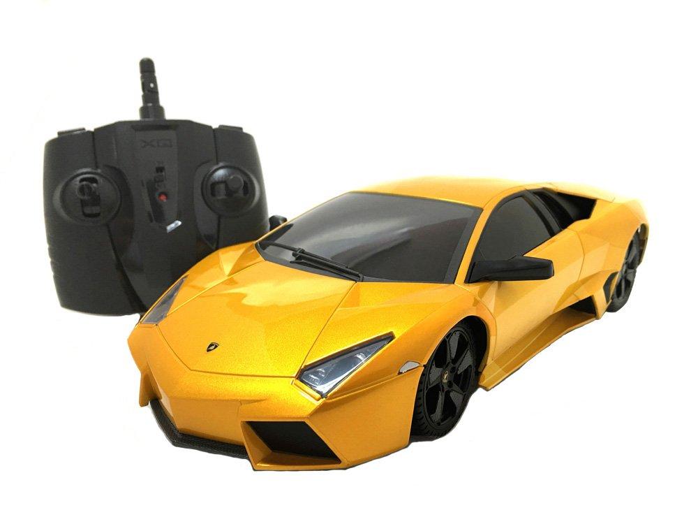 Amazon Com 2 4ghz Radio Remote Control Lamborghini Reventon 1 18
