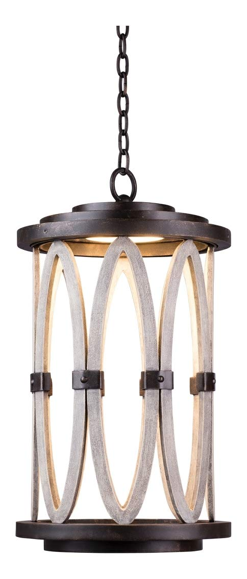 Belmont Led Large Hanging Lantern Florence Gold