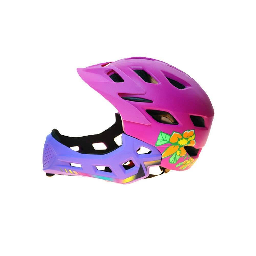 TONGDAUR Balance Car Helmet for Children Casco de Bicicleta Casco Integral Casco de Skate Casco de protecci/ón Deportiva Color : Azul, Size : Gratis