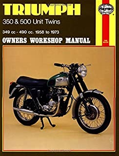 triumph 350 & 500 unit twins, 1958-73 (owners' workshop manual)
