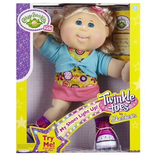 Cabbage Patch Kids Twinkle Toes: Caucasian Girl Doll, Blonde, Blue Eyes by Cabbage Patch Kids (Image #1)