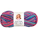 Deborah Norville Cotton Soft Silk Multi Yarn-Stained Glass