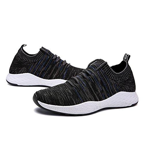 Souliers pour Flyknit Suetar Sport et d'été Baskets de Occasionnels de Blackblue Hommes de et Chaussures Légères Course Printemps Respirantes rEEIw
